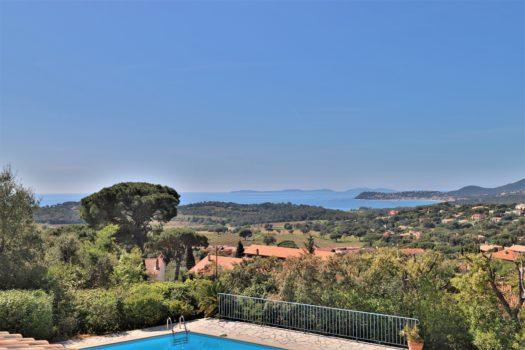 Villa à vendre à La Croix-Valmer avec superbe vue mer