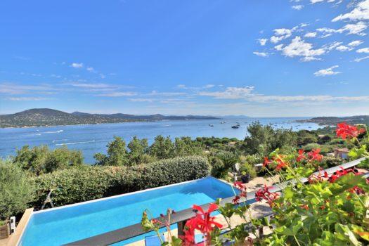 Propriété vue mer panoramique à vendre à Sinopolis Gassin