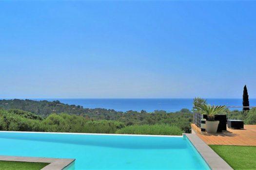 Villa vue mer panoramique à vendre à La Croix-Valmer
