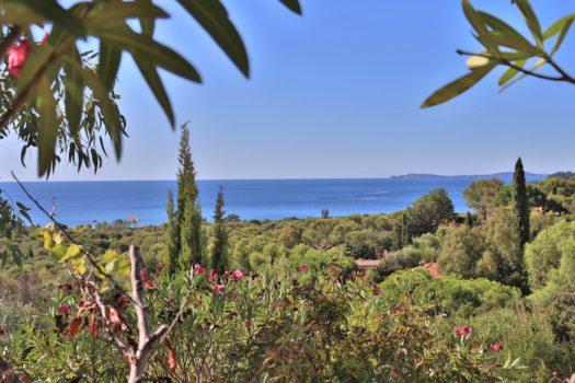 Villa à vendre (à rénover) vue mer panoramique à La croix-valmer