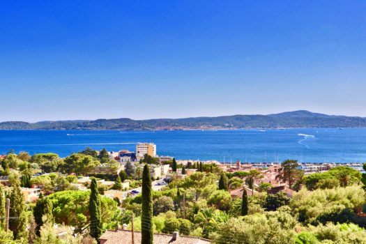 Sémaphore: new property with sea view over Saint-Tropez for sale