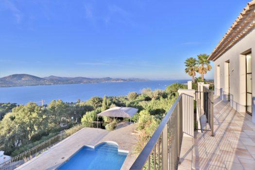 Villa met panoramisch zeezicht nabij Saint-Tropez