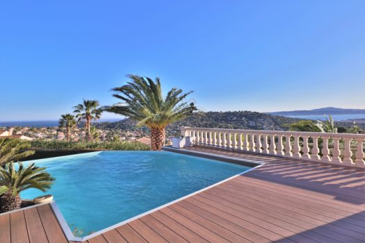 Sea view villa for sale Sainte-Maxime golf course