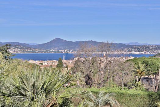 Villa vue mer à vendre à pied du centre de Saint-Tropez