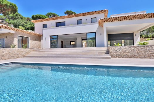 Sémaphore: new sea view villa for sale in Sainte-Maxime