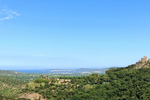 Panoramic sea view property for sale in Grimaud