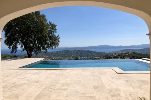 panoramic sea view villa for sale in Sainte-Maxime