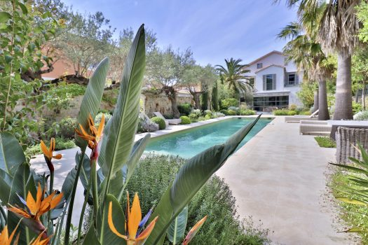 Sea view property with swimming for sale in Saint-Tropez center's