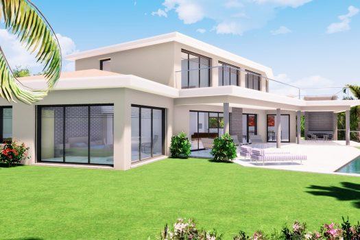 Villa neuve vue mer à vendre au Sémaphore