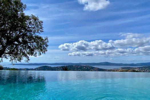 Panoramic sea view villa for sale in Sainte-Maxime