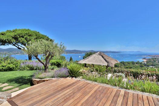 Villa de luxe vue mer panoramique à vendre proche de Saint-Tropez
