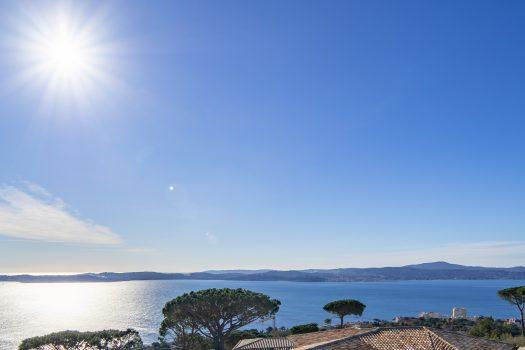 Villa neuve avec vue mer panoramique à vendre au Sémaphore