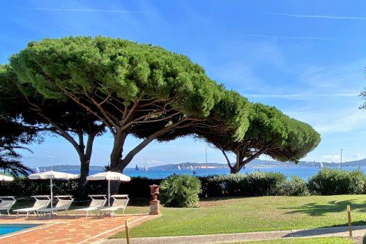 Grande propriété vue mer panoramique à vendre face à Saint-Tropez